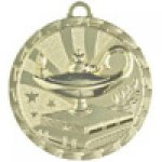Brite Medals -Lamp of Knowledge  Scholastic Trophy Awards